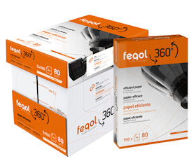 Resma de papel Fegol A4-80gr
