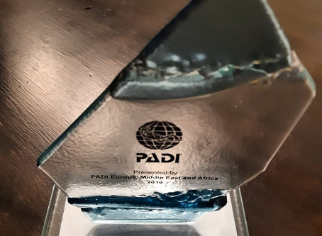 PADI EMEA Recognition to Best Spot Azores Dive Center