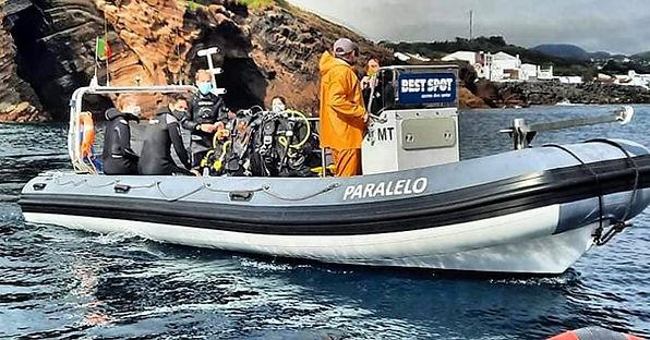 Scuba Diving Boat Dive