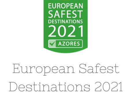 Azores as European Safest Destination 2021