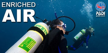 PADI Courses Open Water Diver Learn Diving Scuba Azores Ponta Delgada Nitrox Specialities
