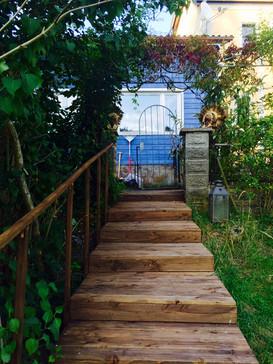 vom Garten zum Studio