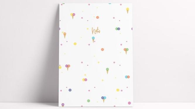 Ice Cream Notebook