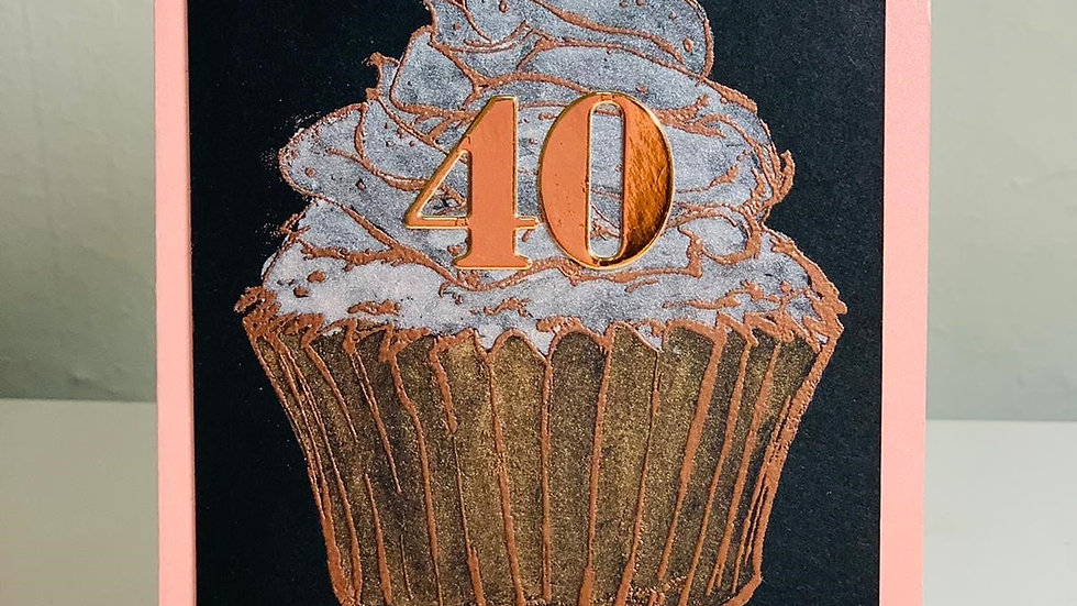 Happy 40th Birthday Cake!