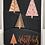 Thumbnail: Rose Gold Christmas Tree Card