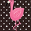 Thumbnail: Fancy Flamingo Notebook