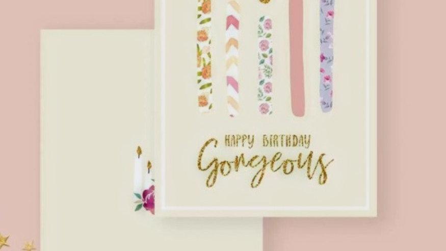 Happy Birthday Gorgeous!