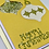 Thumbnail: Gold sequin card