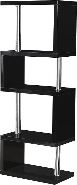 Charisma 5 Shelf Unit - Black