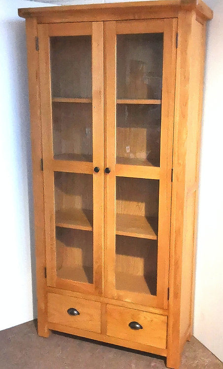 Cleveland 2 Door 1 Drawer Display Cabinet
