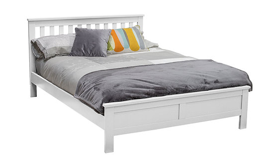 Willow Double Bed - White