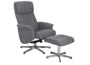 Rayna Relax Chair & stool