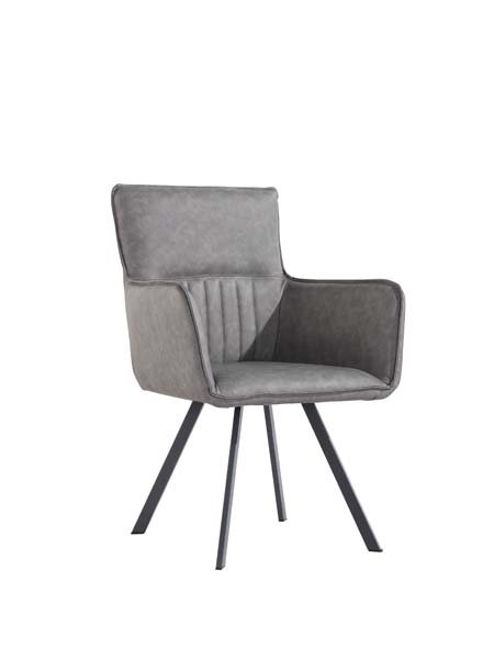 Chicago Ribbed Stitch Carver Chair