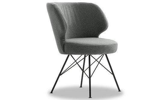 Erwan Accent Chair - Light Grey