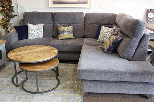 Salute Fabric Corner Sofa