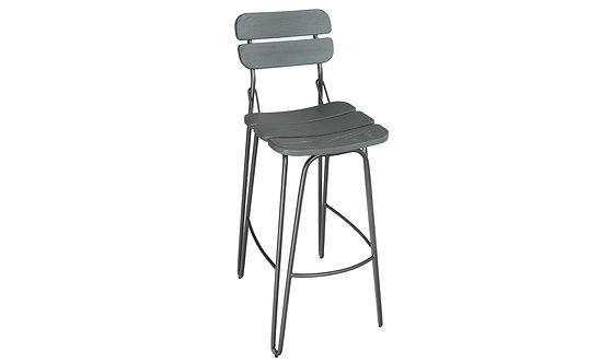 Delta Bar Chair - Grey Elm