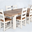 Thumbnail: Danube Extendable Dining Set - Oak