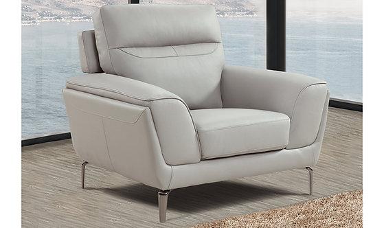 Vitalia 1 Seater Armchair - Light Grey