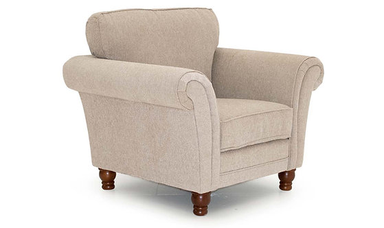 Helmsdale 1 Seater - Pewter