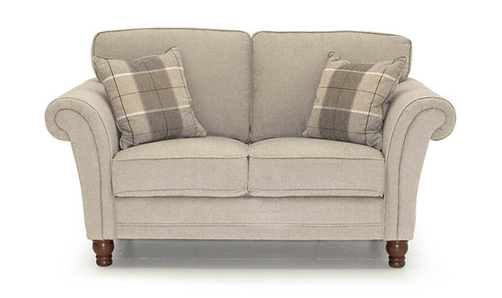 Helmsdale 2 Seater - Pewter