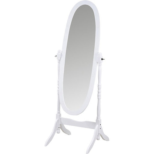 Lisa Cheval Mirror - White