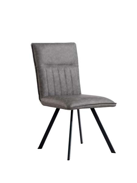 Chicago Ribbed Stitch Dining Chair