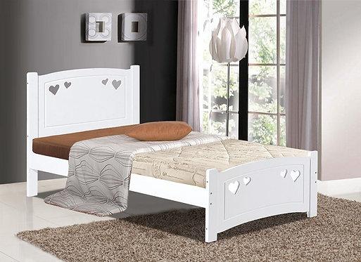 Vogue Kids Bed Frame White