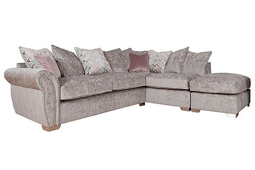 Flair Fabric Corner Sofa