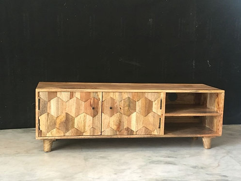 Hexagonal TV Unit