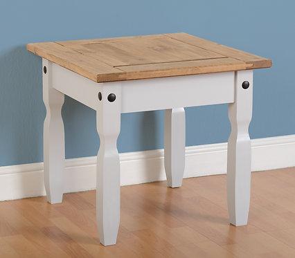 Corona Lamp Table - Grey