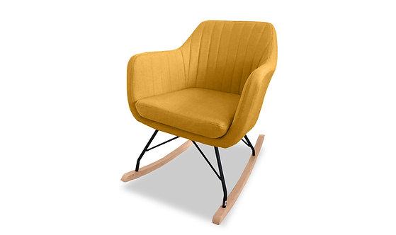 Katell Rocking Chair - Mustard