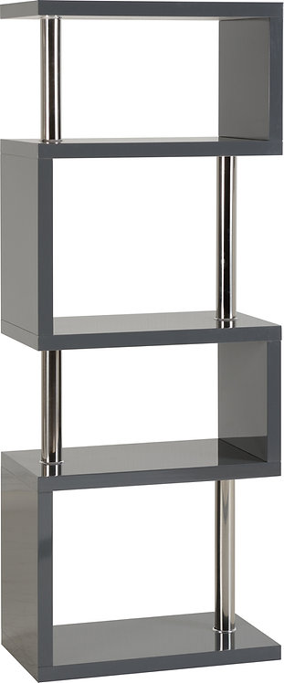 Charisma 5 Shelf Unit - Grey