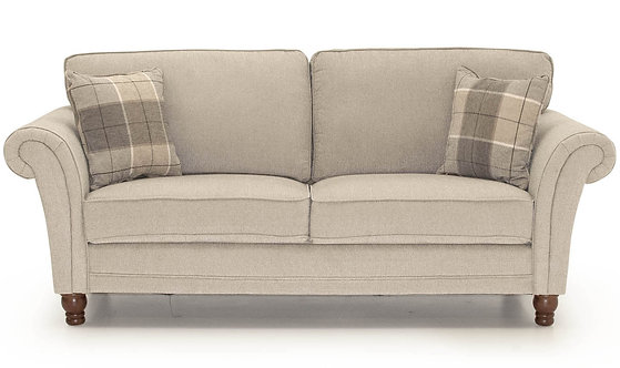 Helmsdale 3 Seater - Pewter