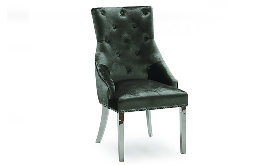 Belvedere Dining Chair - Charcoal