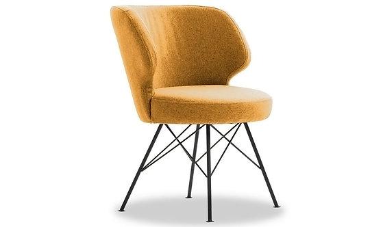 Erwan Accent Chair - Mustard