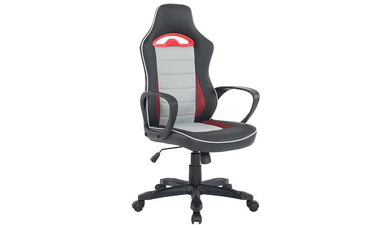Axel Gaming Chair - Black/Grey/Red