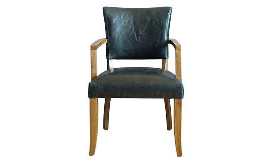 Duke Arm Chair - Ink Blue