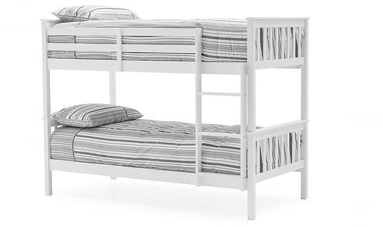 Salix Bunk Bed - 3FT White