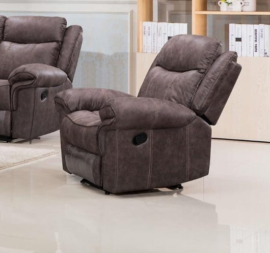 Lisbon Brown Reclining Armchair