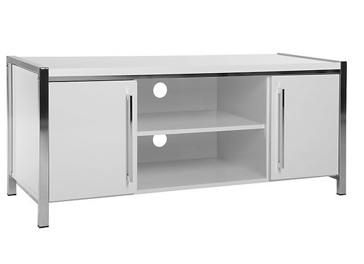 Charisma 2 Door TV Unit White