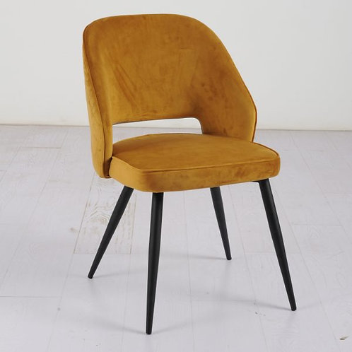 Sutton Dining Chair - Mustard