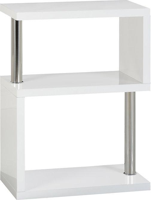 Charisma 3 Shelf Unit - White