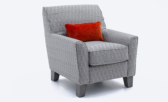 Cantrell Accent Chair – Graphite