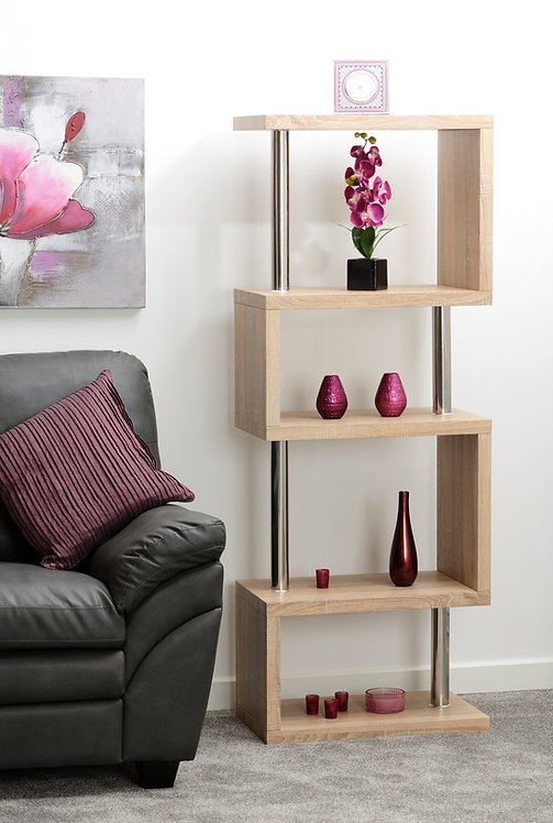 Charisma 5 Shelf Unit - Sonoma Oak