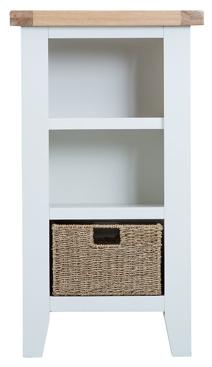 Toulouse Small Narrow Bookcase
