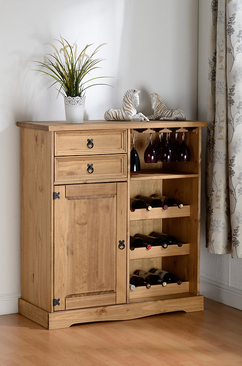 Corona Sideboard & Wine Rack