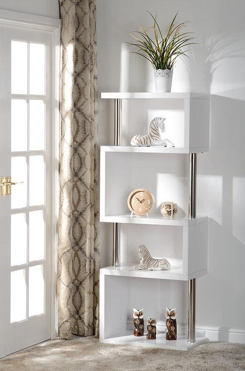Charisma 5 Shelf Unit - White