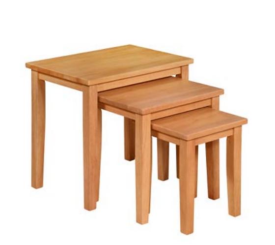 Melissa Oak Nest of Tables