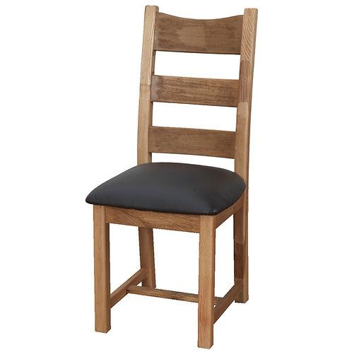 Danube Dining Chair - Brown Seat
