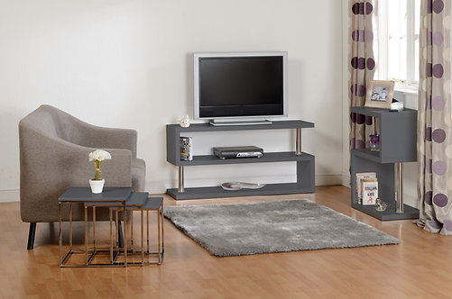 Charisma TV Unit - Grey